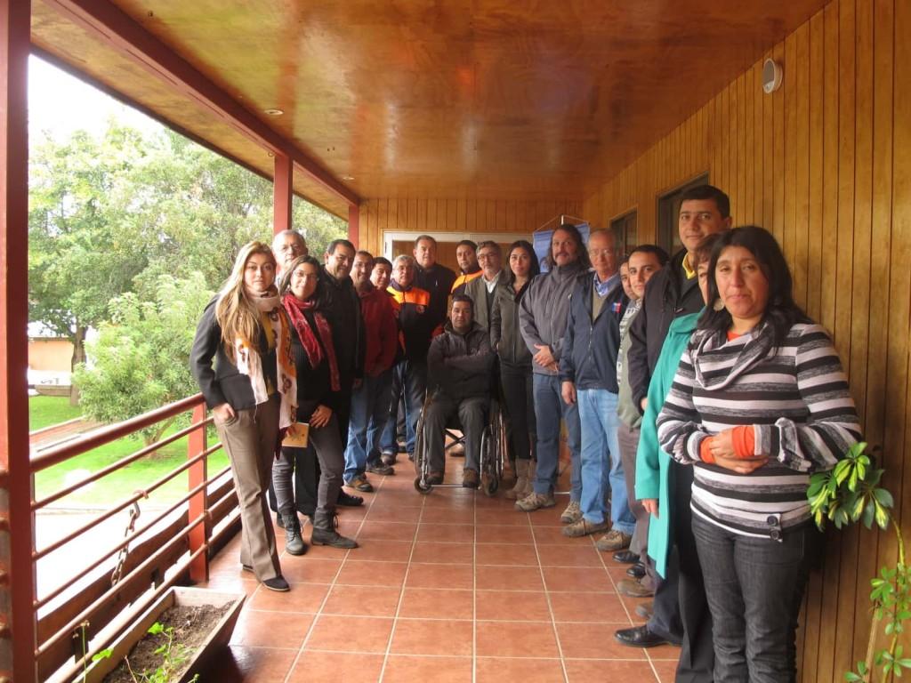 Asistentes al taller de Gestión de Riesgo y Cambio Climático