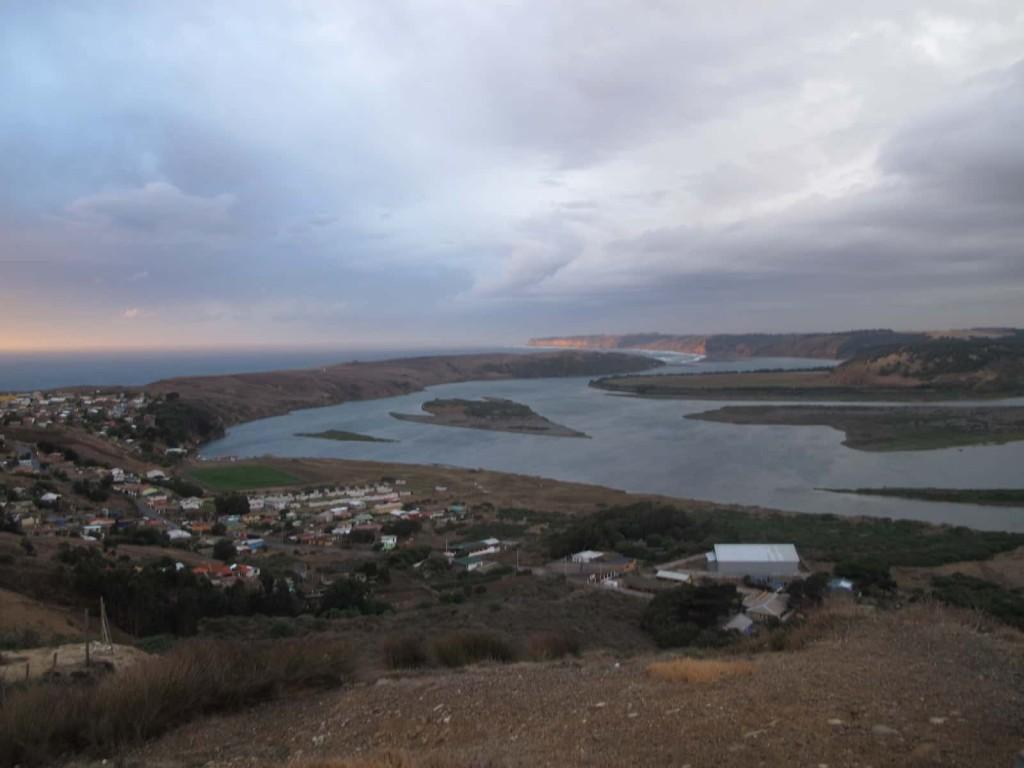 Localidad de La Boca del Rapel, comuna de Navidad, Provincia de Cardenal Caro, región de O'Higgins, Chile, invierno 2013