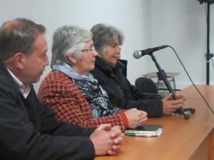 Patricio Campos, Blanca Parraguez y Lia Lazo