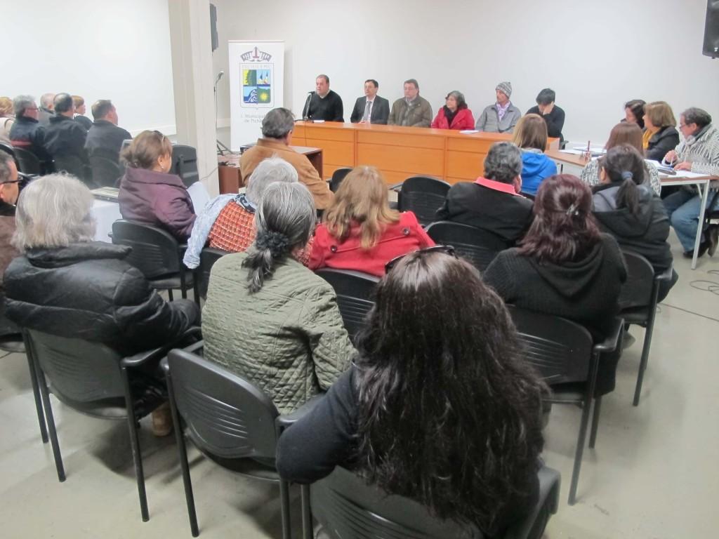 En el Centro Cultural Ross se Realizó la presentación de los 23 candidatos para los 12 cupos de consejeros