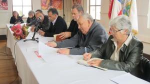 Breve fue la tabla que el alcalde determinó para la reunión