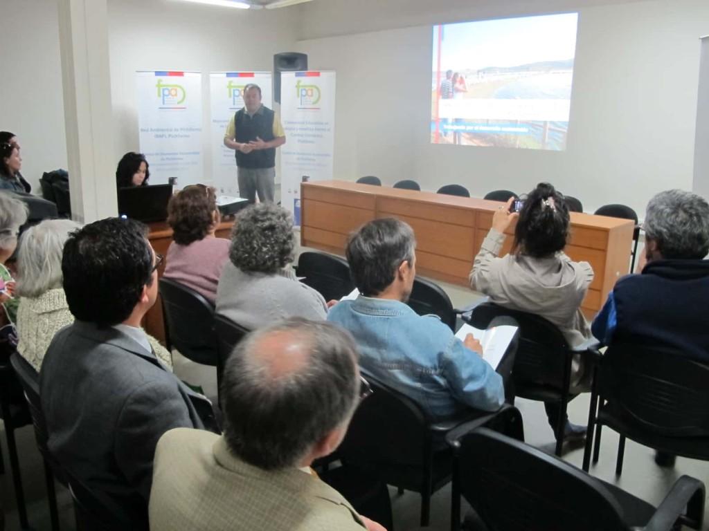 En el Centro Cultural Ross se inauguraron los 4 proyectos FPA que se realizarán en Pichilemu