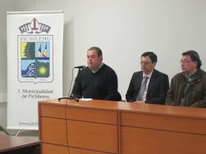 Cadudzzi Salas, Juan Carlos Molina y Jaime Muñoz