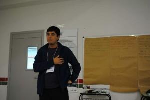 Francisco Araos, Antropólogo y candidato a Doctor de la UNICAMP