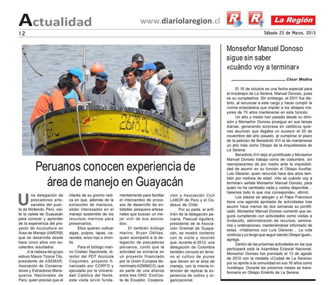 Pecadores de Perú en mini gira por Chile
