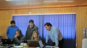 Funcionarios municipales trabajaron 36 horas en total en ambos talleres SIG