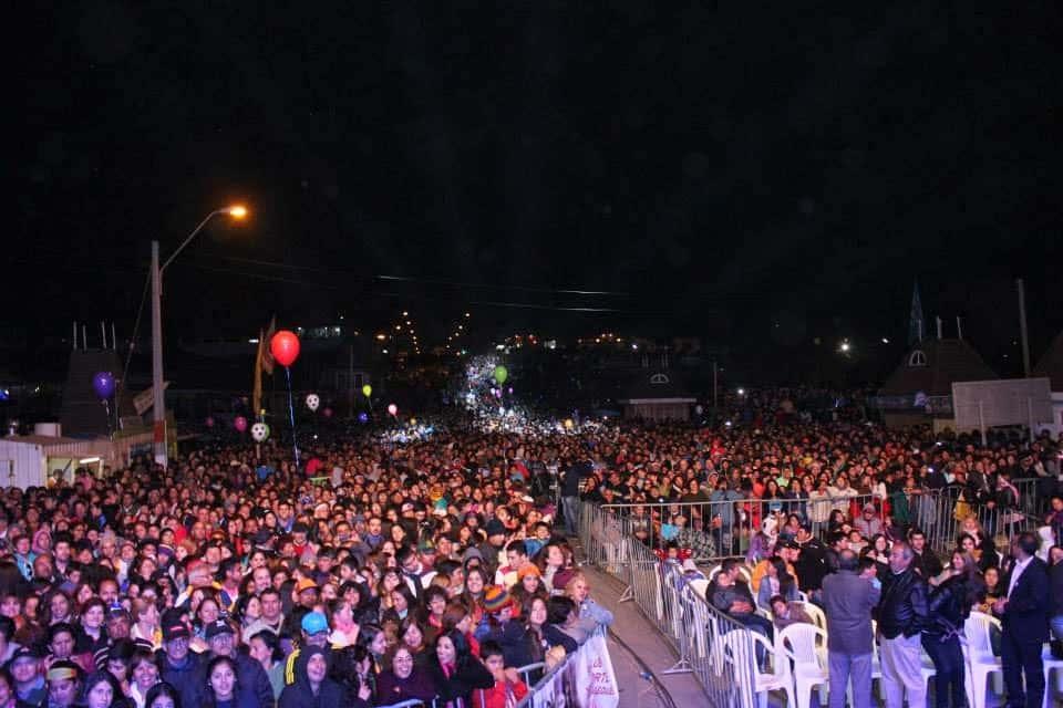 Más de 30 mil personas presenciaron el mega concierto que sirvió de plataforma para difundir la Reserva Punta de Lobos