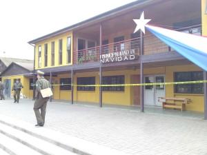 Fachada Municipio de Navidad