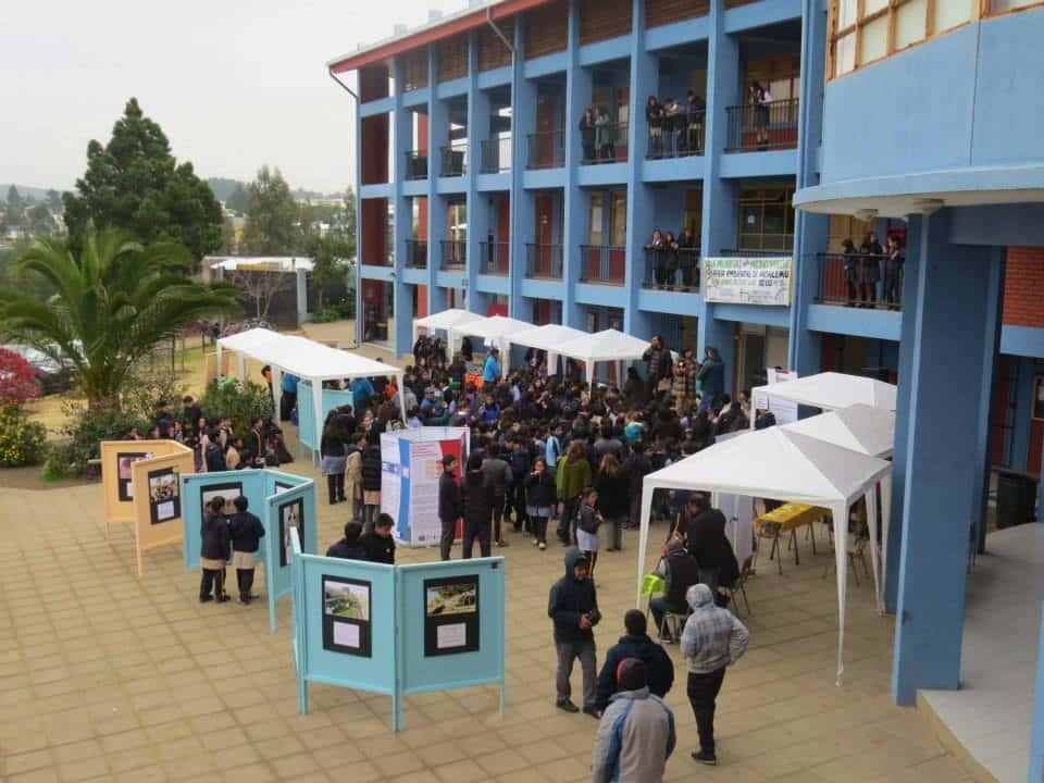 En el Patio del Colegio Divino Maestro se llevó a cabo la actividad.