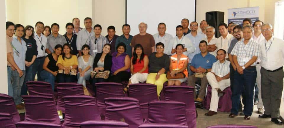 Participantes del Foro Admicco que convocó delegaciones de Perú, Chile y Ecuador
