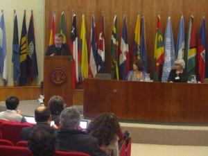 Roberto de Andrade, Consultor FAO fue el Moderador del encuentro